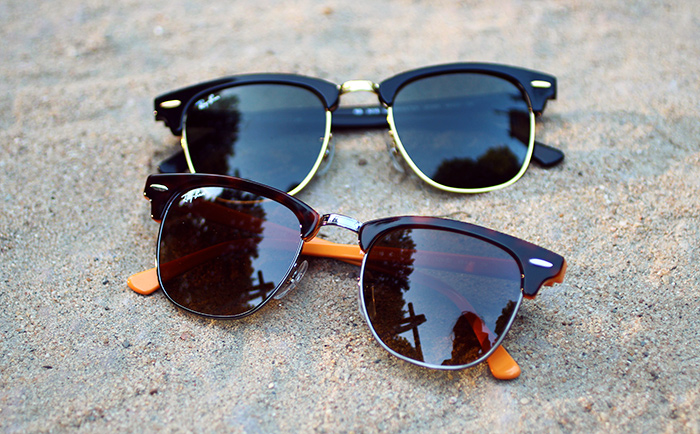 sonnenbrille wie ray ban clubmaster