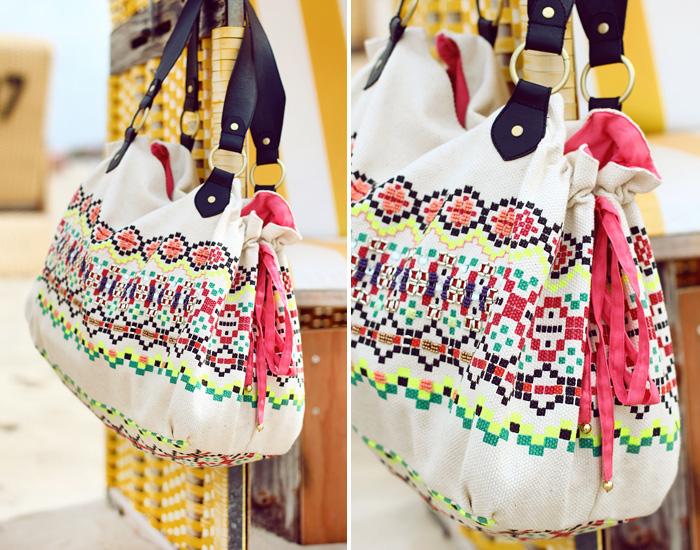 Six taschen  new in: Sommertasche mit Azteken Print - RAUSCHGIFTENGEL